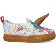 Vans Toddler Girls' Asher V Ice Cream Slip-On Shoe