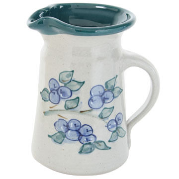 Great Bay Pottery Handmade Ceramic Juice Pitcher - 1pt.