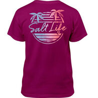 Salt Life Girl's Beach Front Short-Sleeve T-Shirt