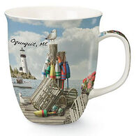Cape Shore Maine Dockside Harbor Mug