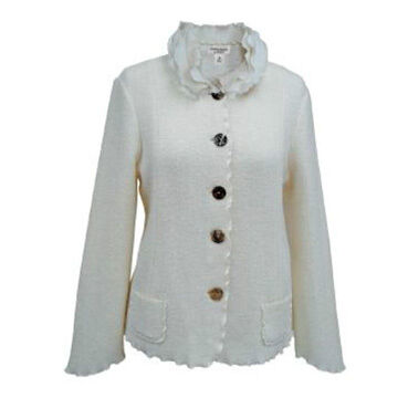 Venario Womens Claire Boiled Wool Jacket