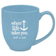 Where Life Takes You Anchor Mug