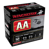 """Winchester AA Target 12 GA 2-3/4"""" 1 oz. #8 Shotshell Ammo (25)"""
