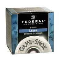 "Federal Game-Shok Upland Hi-Brass Lead 20 GA 2-3/4"" 1 oz. #7.5 Shotshell Ammo (25)"