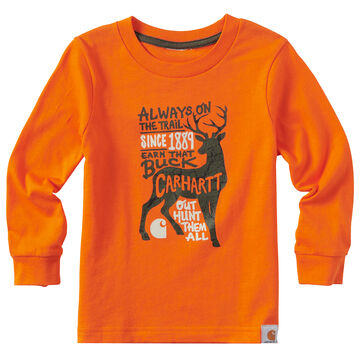 Carhartt Toddler Boys Always On The Trail Long-Sleeve T-Shirt