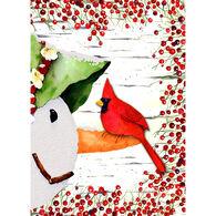 LPG Greetings Snowman Cardinal Boxed Christmas Cards