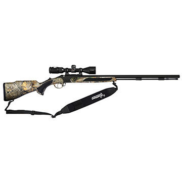 Traditions Vortek StrikerFire 50 Cal. Muzzleloader Crush Package w/ 3-9x40mm Nikon Scope, Sling & Case