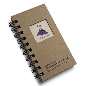 """Journals Unlimited """"Write it Down!"""" Mini-Size Me - A Personal Journal"""