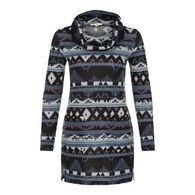 Tribal Women's Print Cowl Neck Tunic
