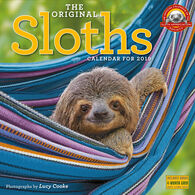 The Original Sloths 2019 Wall Calendar by Lucy Cooke