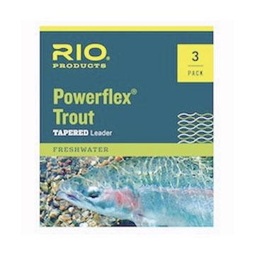RIO Powerflex Trout Leader - 3 Pk.