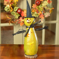 Meadowbrooke Gourds Fiona Witch Medium Tall Lit Gourd