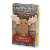 Imagine Design Maine Moose Magnet w/ Gourmet Hot Cocoa