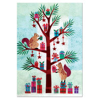 Allport Editions Squirrel Gifts Boxed Holiday Cards