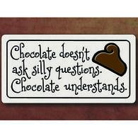 "Spooner Creek ""Chocolate Doesn't"" Magnet"