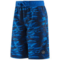 Speedo Boy's Crush It Camo Comfort Liner Volley Boardshort