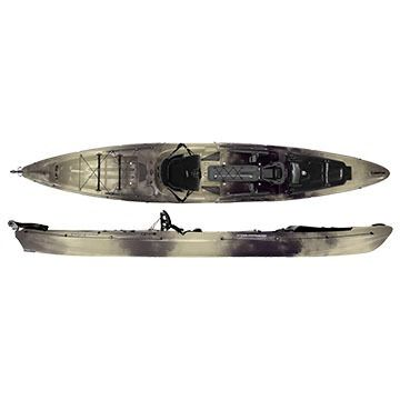 Wilderness Systems Thresher 155 Sit-on-Top Fishing Kayak w/ Rudder - 2015 Model