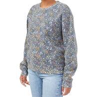 tentree Women's Wildfields Crew Neck Sweatshirt