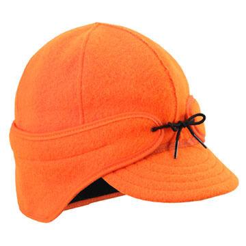 Stormy Kromer Mens Blaze Orange Rancher Cap