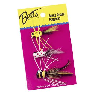 Betts Bass Popper Fly Value Pack