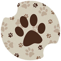 Thirstystone Paw Prints Carster Coaster Set, 2-Piece