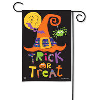 BreezeArt Witches Halloween Garden Flag