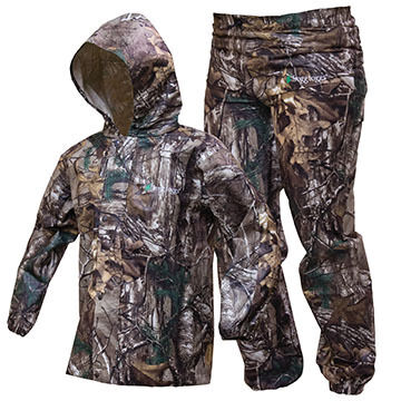 Frogg Toggs Boys & Girls Camo Polly Woggs Rain Suit
