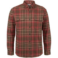Wolverine Men's Glacier Heavyweight Flannel Long-Sleeve Shirt
