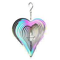 Red Carpet Studios Heart Rainbow Cosmo Spinner