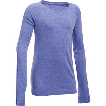 Under Armour Girl's Favorite Knit Long-Sleeve Shirt