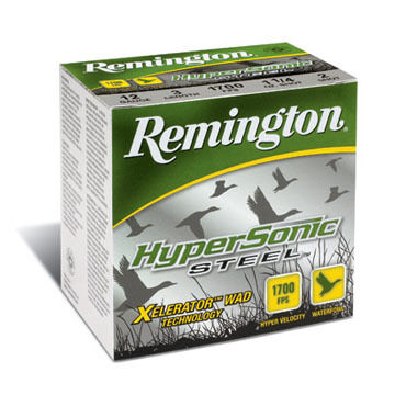 "Remington HyperSonic Steel 12 GA 3-1/2"" 1-3/8 oz. 1700 FPS BB Shotshell Ammo (25)"