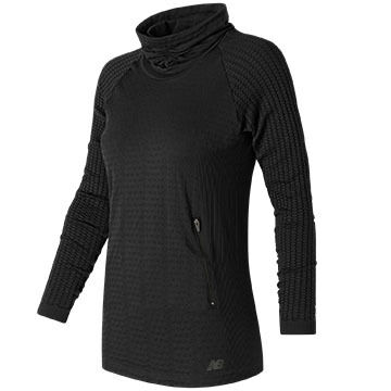 New Balance Women's M4M Seamless Cable Pullover