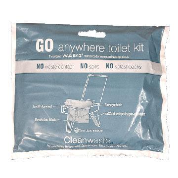 Cleanwaste GO Anywhere Toilet Kit