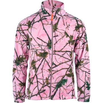 Trail Crest Womens Camo Chambliss Semi-Fitted Fleece Jacket