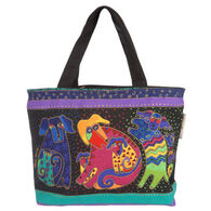 Sun N Sand Dogs and Doggies Mini Square Tote Bag