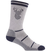 Farm to Feet Men's Englewood Stag Midweight Crew Sock