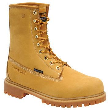 Carolina Mens 8 Waterproof Insulated Work Boot, 200g