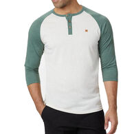tentree Men's Treeblend Planter Henley Long-Sleeve T-Shirt