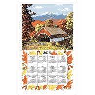 Kay Dee Designs 2018 Covered Bridge Calendar Towel