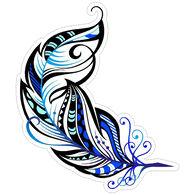 Sticker Cabana Feather Sticker