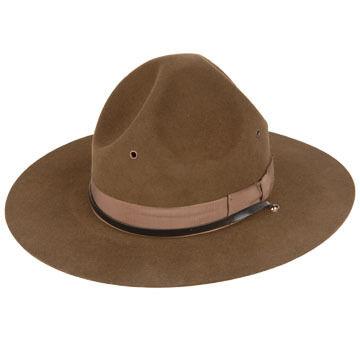 Broner Mens Drill Instructor Hat