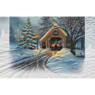 Pumpernickel Press Christmas Crossing Deluxe Boxed Greeting Cards