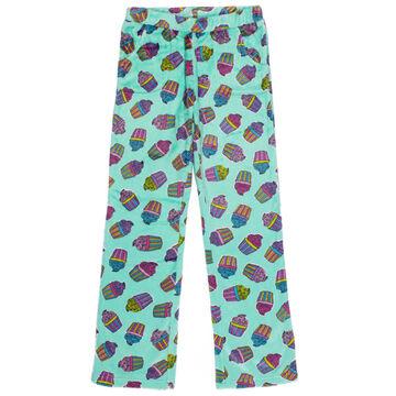 Candy Pink Girls Cupcake Pajama Pant