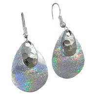 Eye Catching Jewelry Women's Iridescent Teardrop Earring
