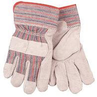 Kinco Men's Economy Split Cowhide Leather Palm Work Gloves