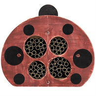 Welliver Decorative Ladybug Mason Bee House