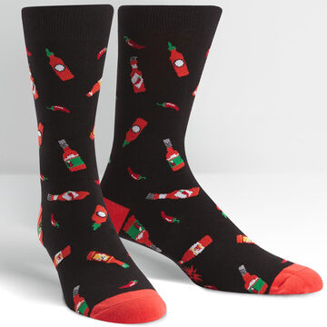 Sock It To Me Mens Hot Sauce Sock