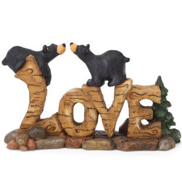 Big Sky Carvers Love Bears Figurine