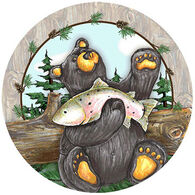Thirstystone Big Sky Bear Coaster Set, 4-Piece