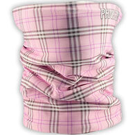Phunkshun Wear Girls' Baby Plaid Double Layer Thermal Facemask